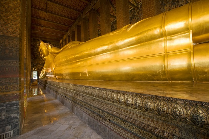 Visit Wat Pho To See The Reclining Buddha