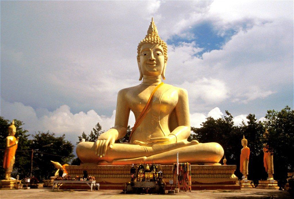 Climb The Hill At Wat Phra Khao Yai