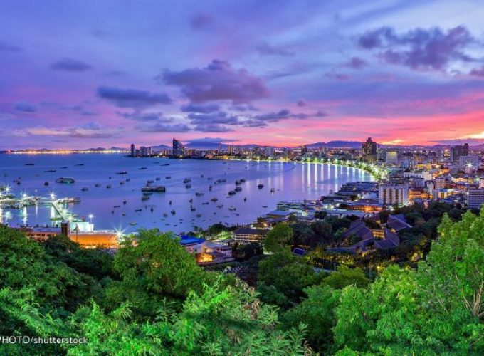 Sunset at Pattaya Viewpoint