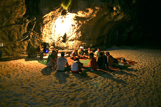 Camping in Phi Phi Island