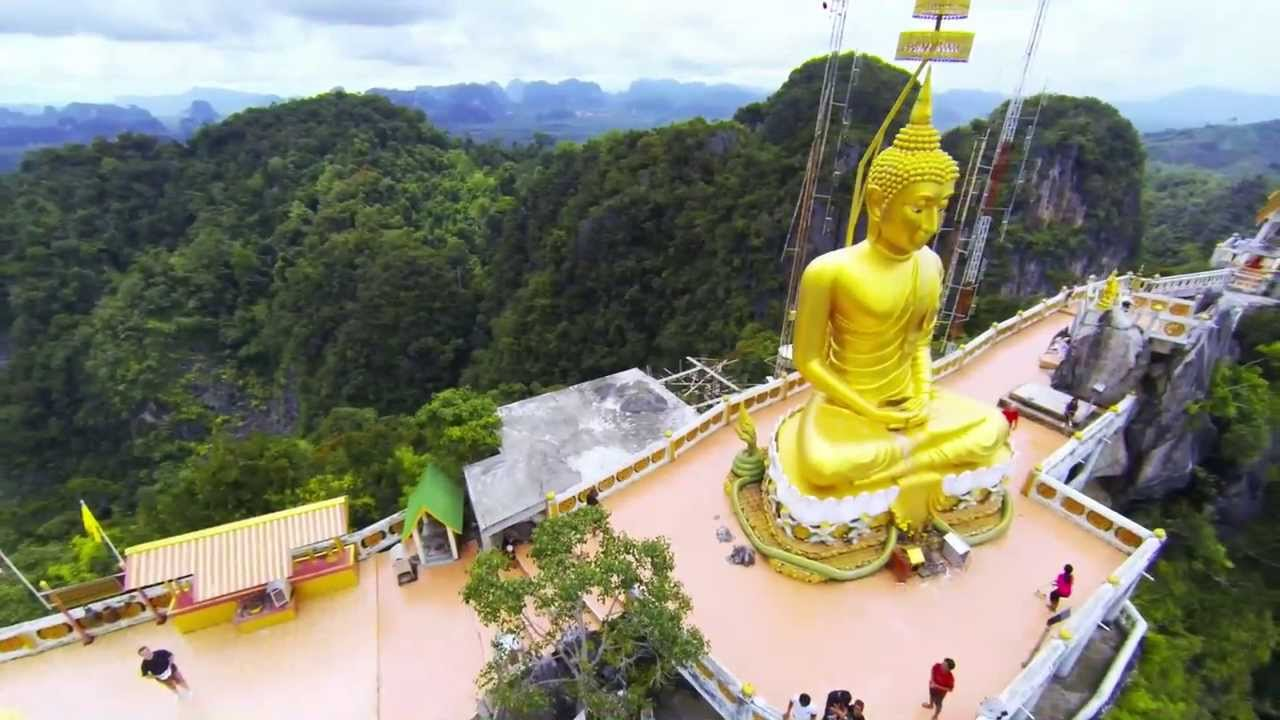 Visit a Temple in a Cave at Wat Tham Sua