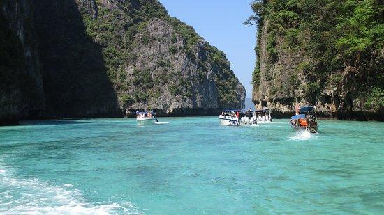 Pi Leh Bay in Phi Phi Island