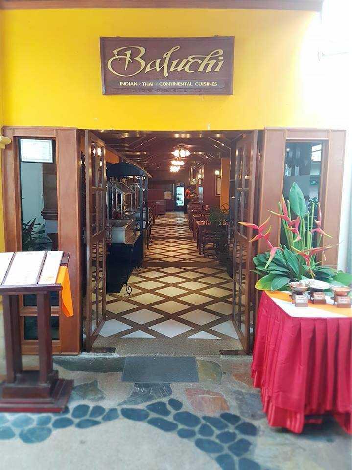 Baluchi Restaurant, Patong